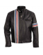 Куртка кожаная Schott Nyc Easy Rider Striped