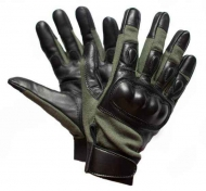 Перчатки тактические Bilal Brothers Hard Knuckle NOMEX® Olive