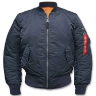 Куртка летная Alpha Industries MA-1 Replica Blue