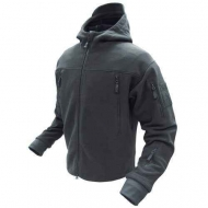 Куртка флисовая CONDOR Sierra Hooded Black
