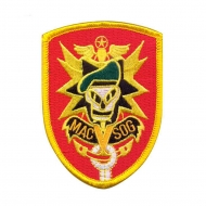 "Нашивка Rothco ""MAC VIET-SOG"" Red Patch"
