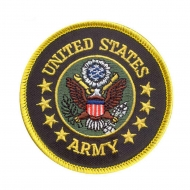 "Нашивка Rothco ""US Army"" Round Patch"