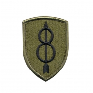 "Нашивка Rothco ""8th Infantry Division"" Patch"