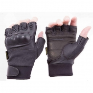 Перчатки тактические Bilal Brothers Hard Knuckle 1/2 Finger w/Kevlar®