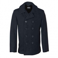 Бушлат шерстяной SCHOTT Slim Fitted Pea Coat DU753