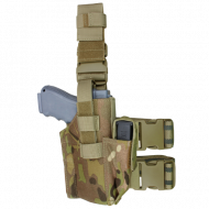 Кобура набедренная Condor Tactical Leg Holster MultiCam