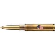 Ручка FISHER .338 Cartridge Space Pen with American Flag