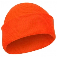 Шапка Акриловая Rothco Deluxe Fine Knit Watch Cap Orange