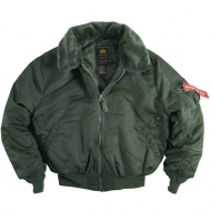 Куртка летная Alpha Industries B-15 Sage Green