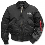 Куртка летная Alpha Industries CWU - 45 Black