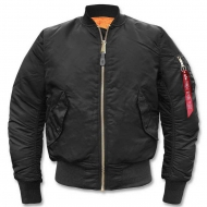 Куртка летная Alpha Industries MA-1 Black