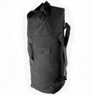 Баул армейский Rothco G.I. Duffle Bag Canvas Black