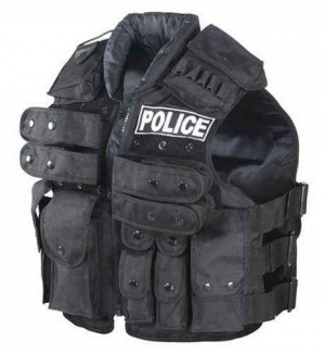Жилет тактический Voodoo Tactical Police Vest Black