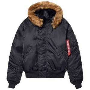 Куртка Alpha Industries N-2B Parka (короткая) Black