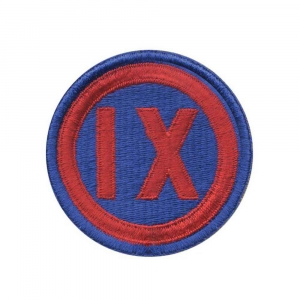 "Нашивка Rothco ""9th Corps"" Patch"