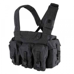 Жилет штурмовой Condor 7 Pocket Chest Rig Black