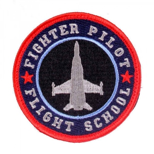 "Нашивка Rothco ""Fighter Pilot"" Morale Patch"