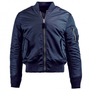 Куртка летная Alpha Industries MA-1 Slim Fit Replica Blue