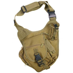 Сумка через плечо Kombat UK Tactical Shoulder Bag 7 Litre - Coyote