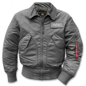 Куртка летная Alpha Industries CWU - 45 Gun Metal