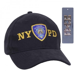 Бейсболка Rothco Official licensed NYPD с эмблемой